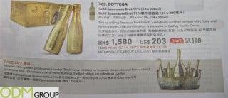 Magazine Promotion: Bottega Offers Free Ice Bucket