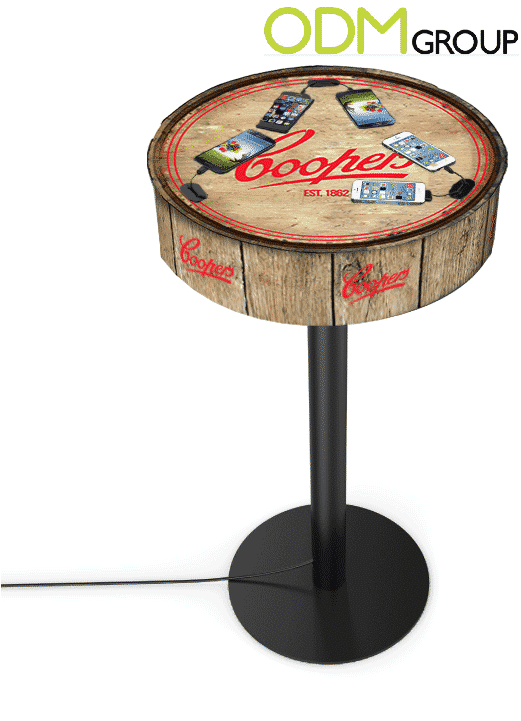 Perfect Advertising Product for Bars – Charging Table