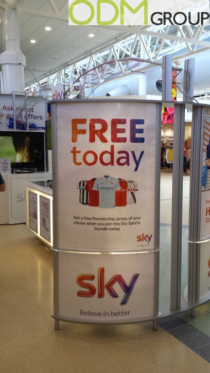 Brand Activation - Sky Free Premiership Jersey