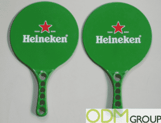 Branded Beach Bat Set by Heineken