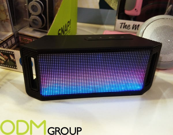 Branded Electronic Device: Music Lights Bluetooth Speaker