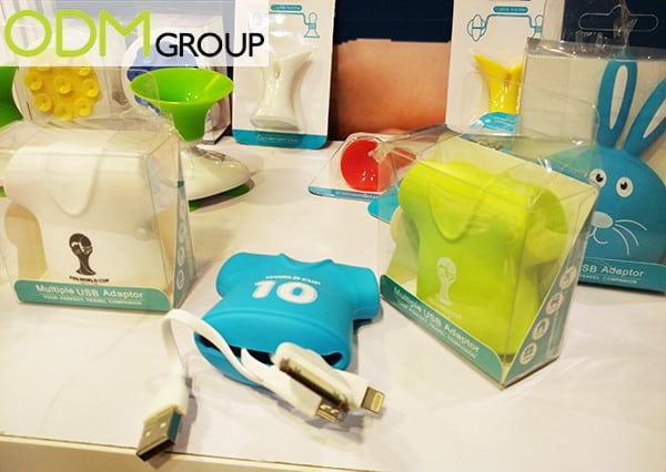 Trade Show Marketing: Branded Multiple Usb Adapter