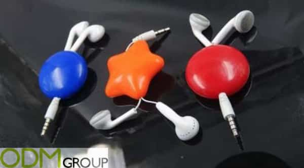 Hottest Promotional Product: Customised Retractable Earphones