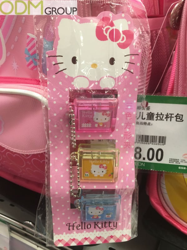 Promotional Gifts Case Study: Hello Kitty