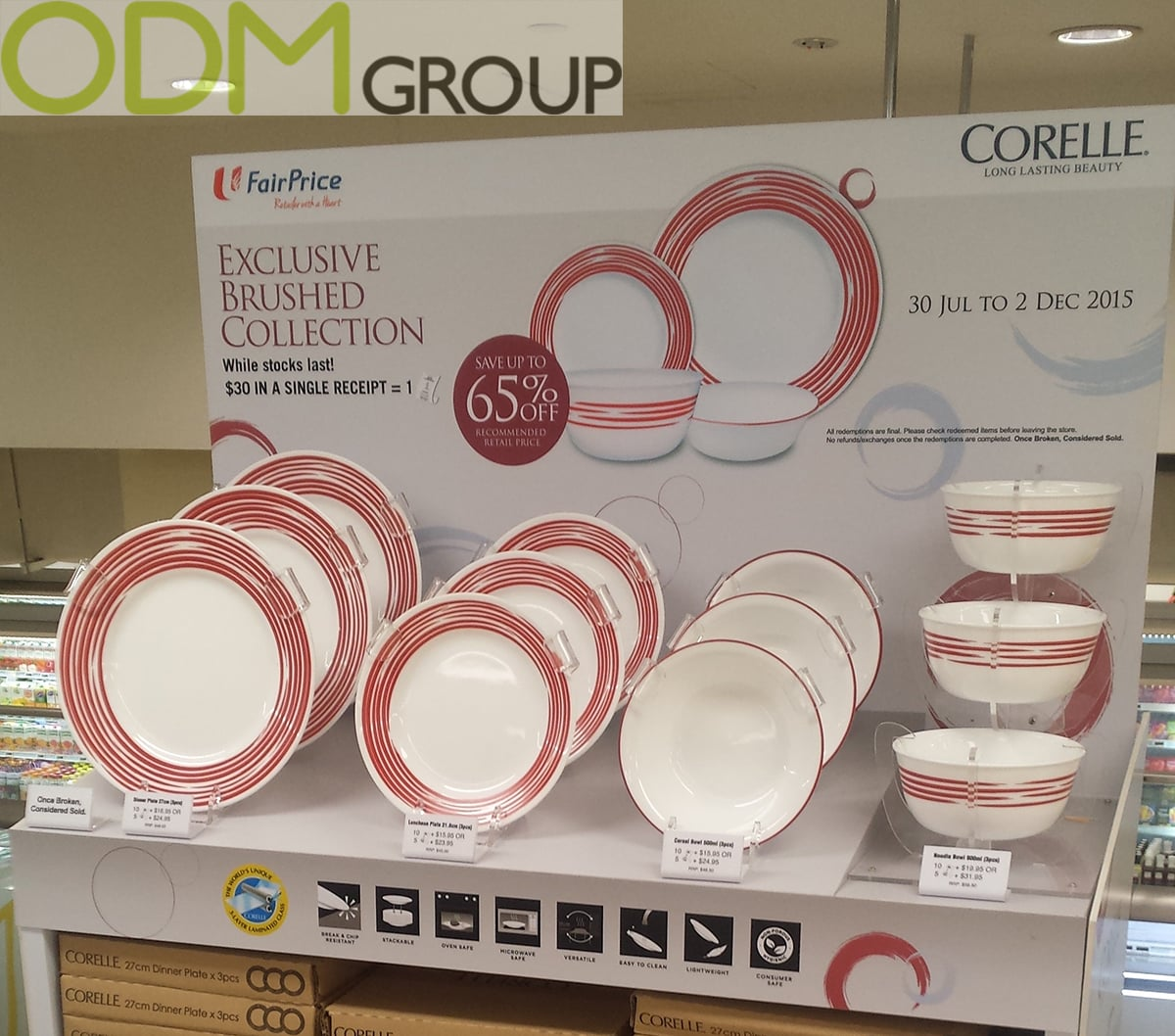 In Store Display- Corelle