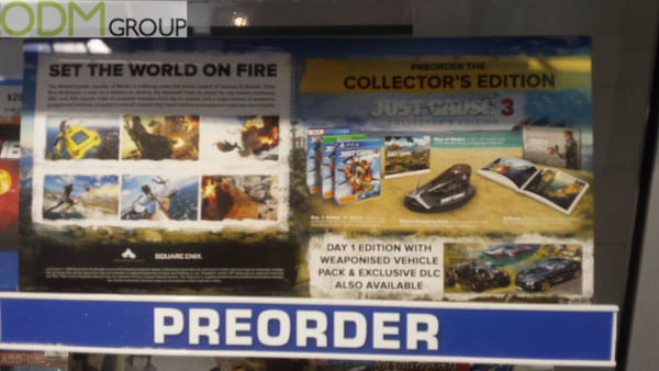 Limited Edition Promotional Merchandise: Gaming