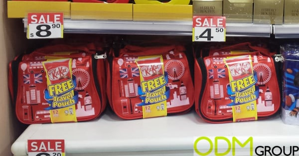KitKat Gift With Purchase in Singapore - Travel Pouch