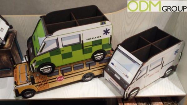 Freight Merchandise: Custom Desk Tidy