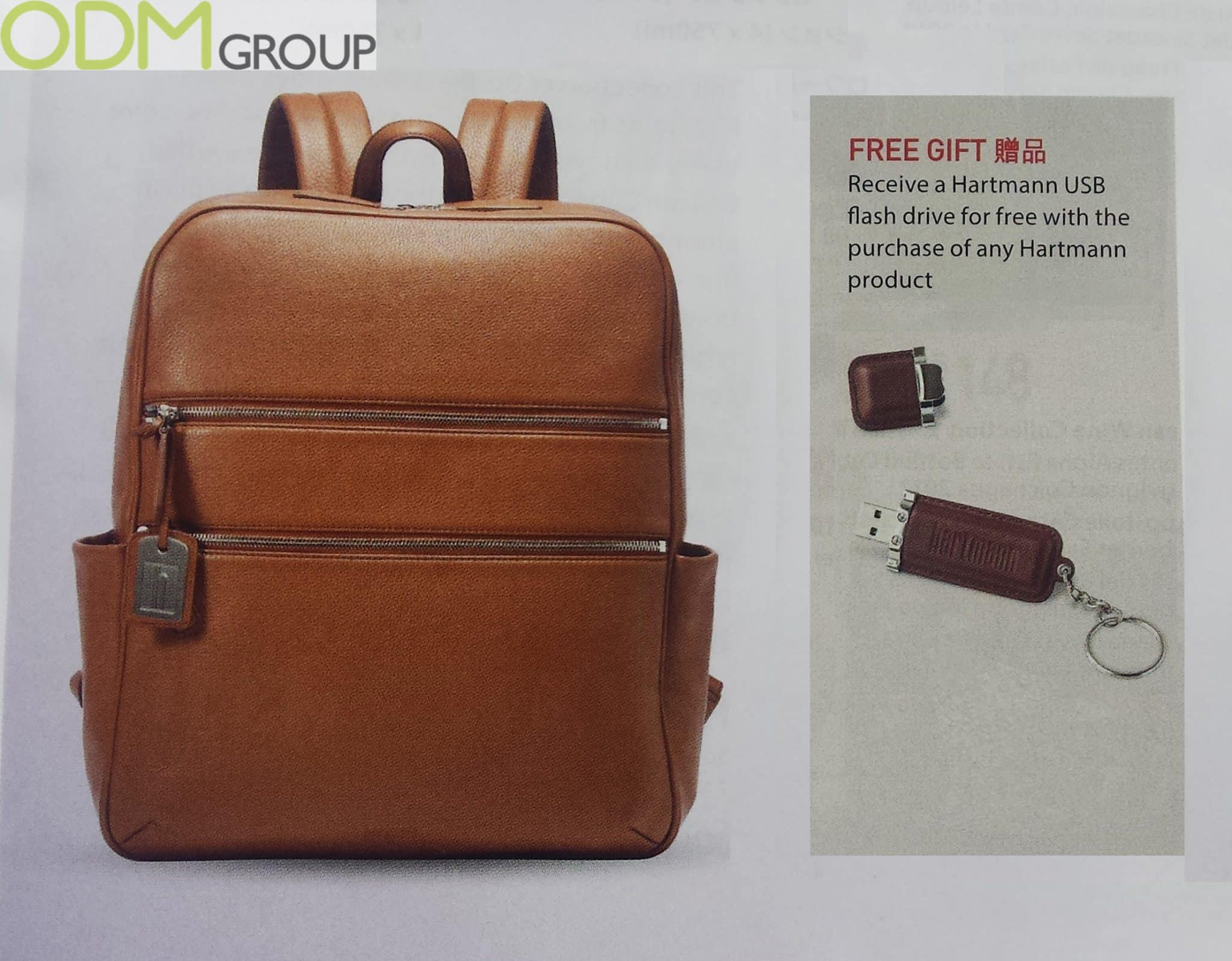 Magazine Promotions: High-end USB