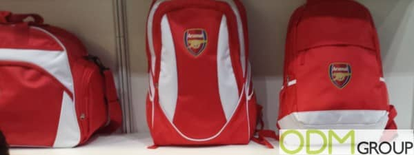 Sports Merchandise - Awesome Arsenal Backpacks