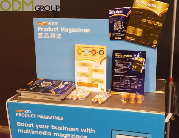Trade Show Marketing: Promotional Giveaways by HKTDC