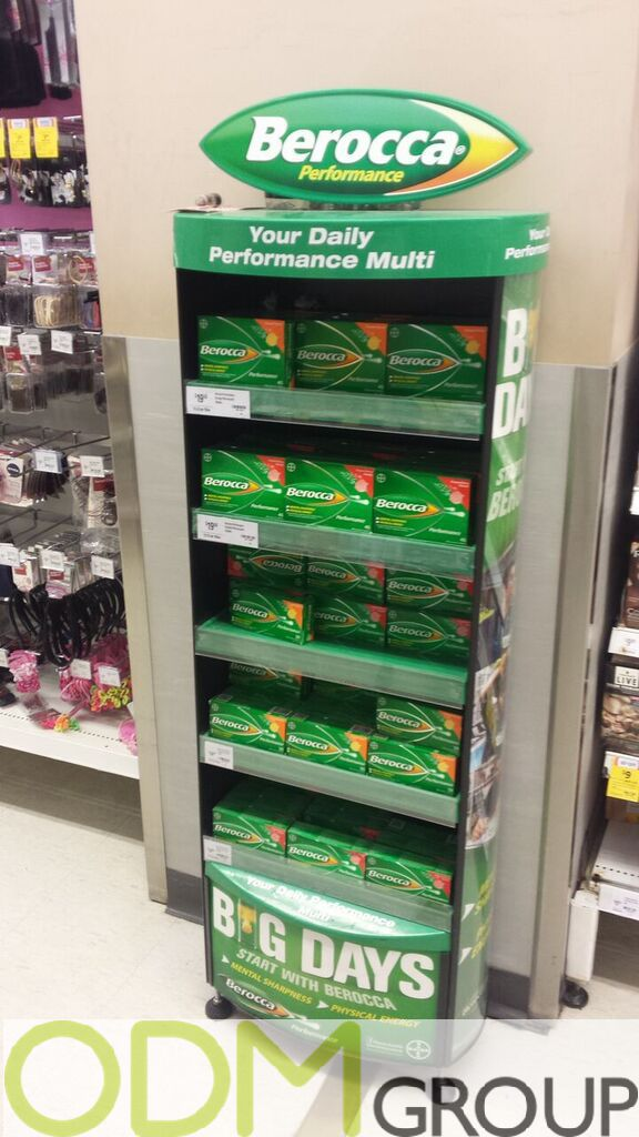 In Store Display - How to stand out in store by Berocca