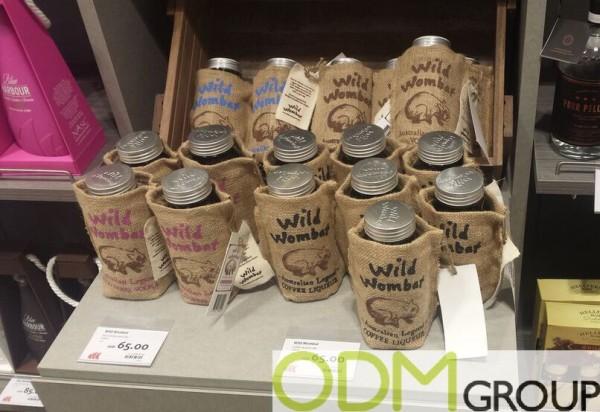 Liquor packaging - Marketing by Wild Wombat Liqueur