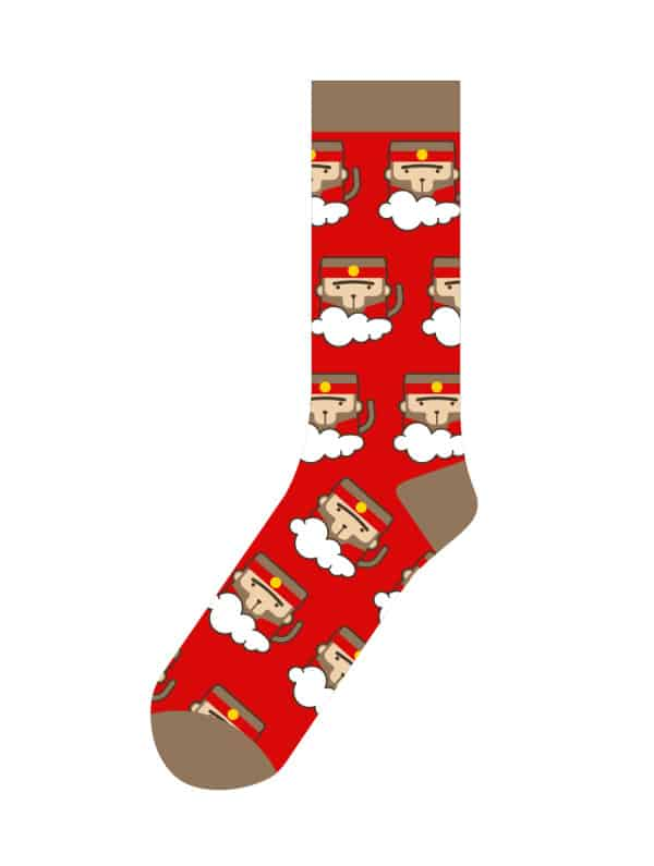 promotional socks manufacturing template