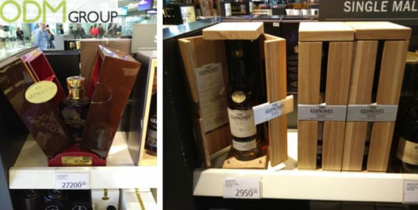 Premium Promotional Casing: Glengoyne and Glenlivet