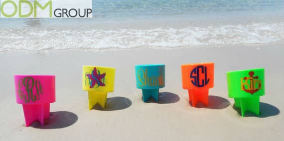 Promotional Drinks Accessories: Sand Spike Holders