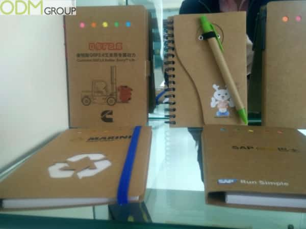 Sustainable Promo Products: Stationary Edition