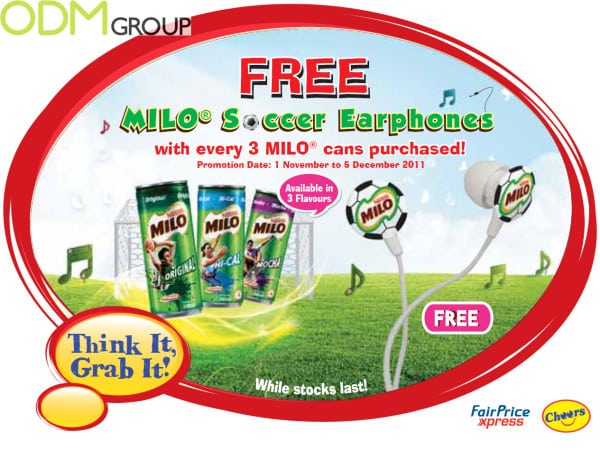 POS Display and Free Gift by Nestle: Made with Love