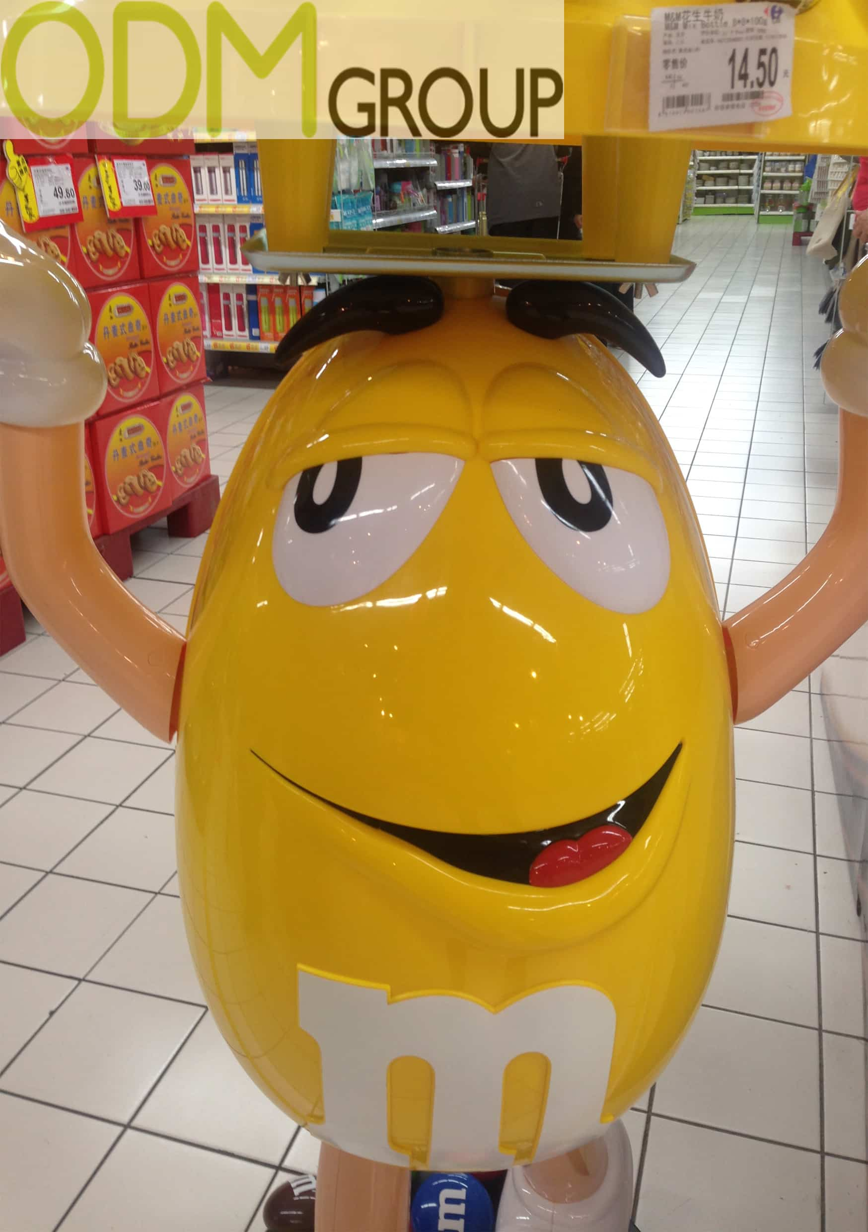 Custom In Store Display Promotion by M&M's