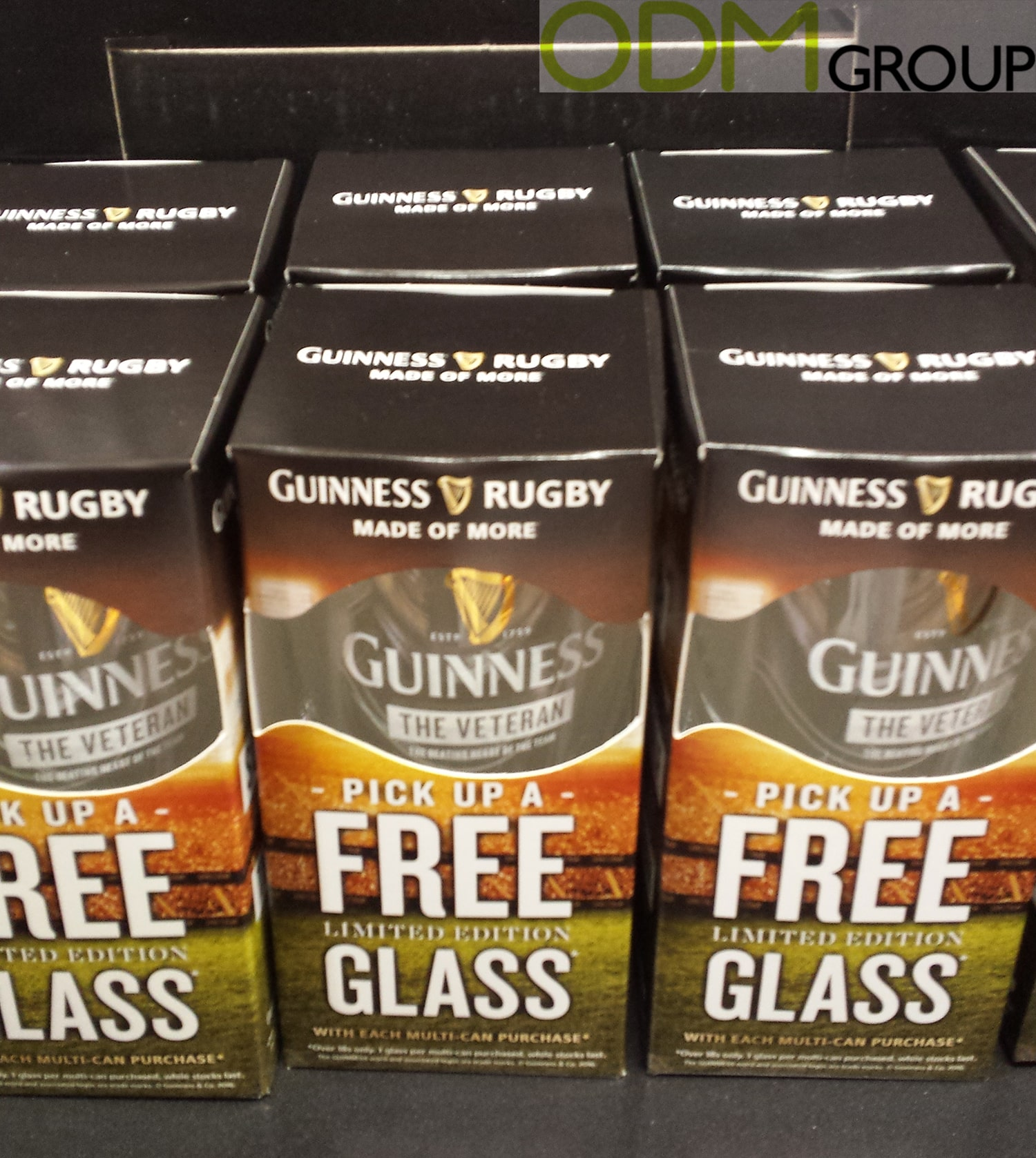 Free Glass by Guinness - Rugby World Cup Promotion