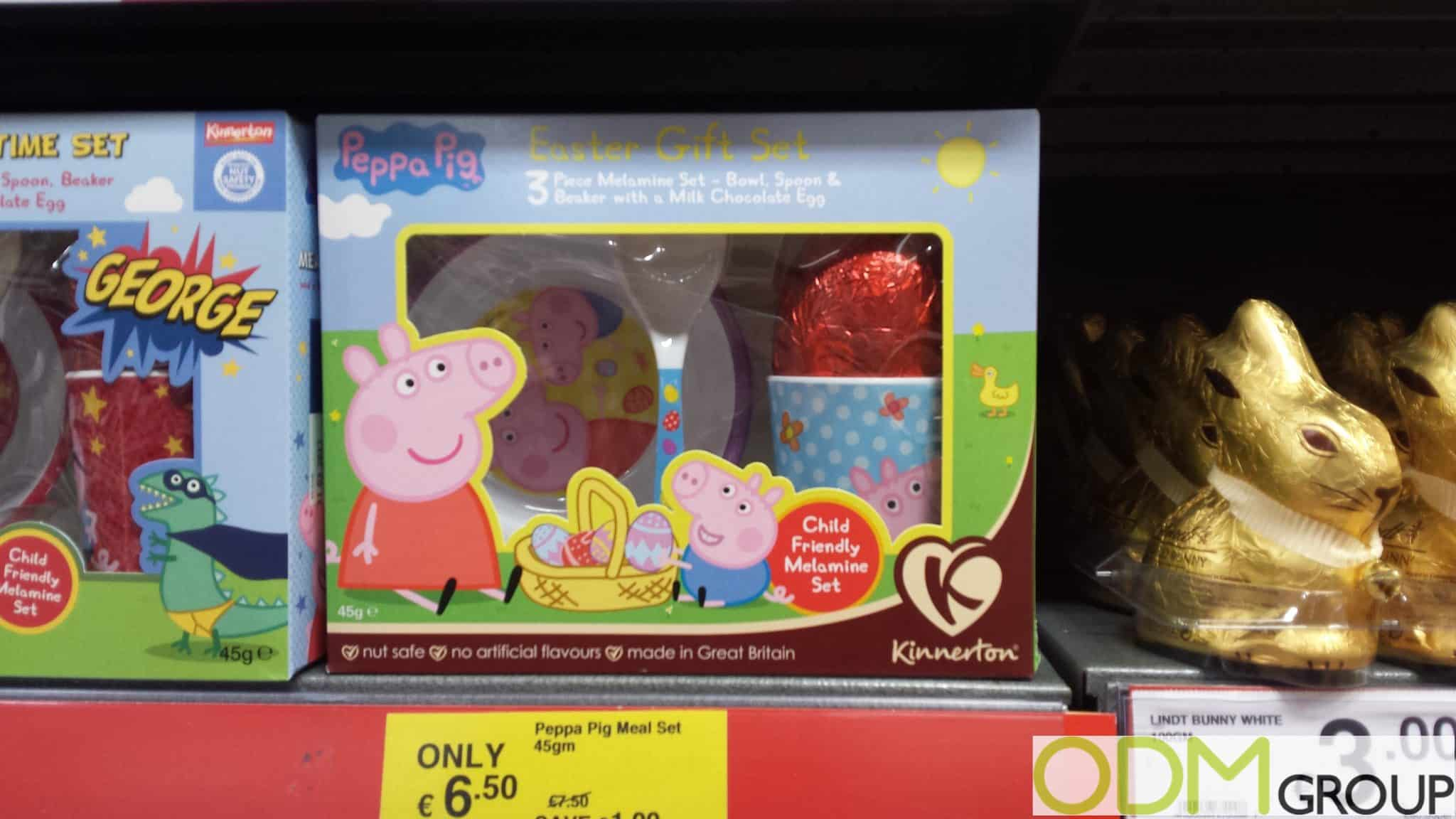 Gift with purchase peppa pigs on pack promotion easter gift set negle Images