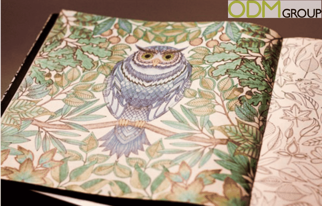 Adult Custom Colouring Books for Mind Relaxation