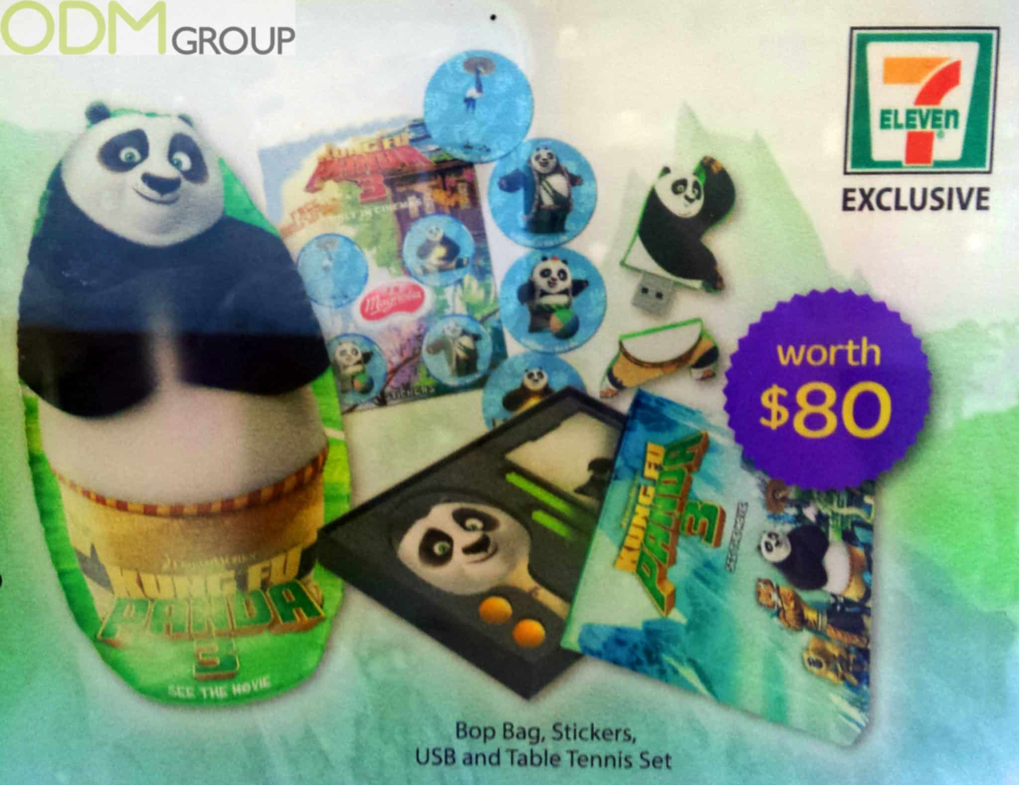 Animated Movie Promotion - Kong Fu Panda Gift Set
