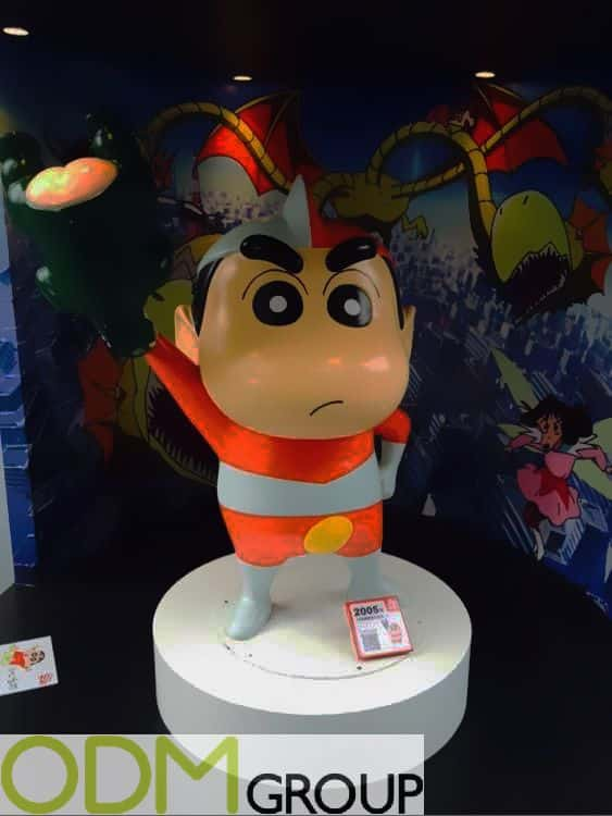 Brand Activation with Vinyl Character Statues