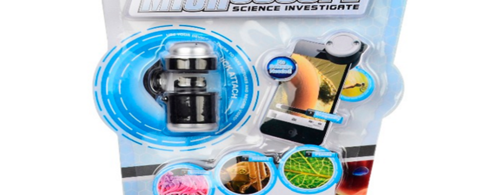 Branded Phone Accessories - Clip-on Phone Microscope