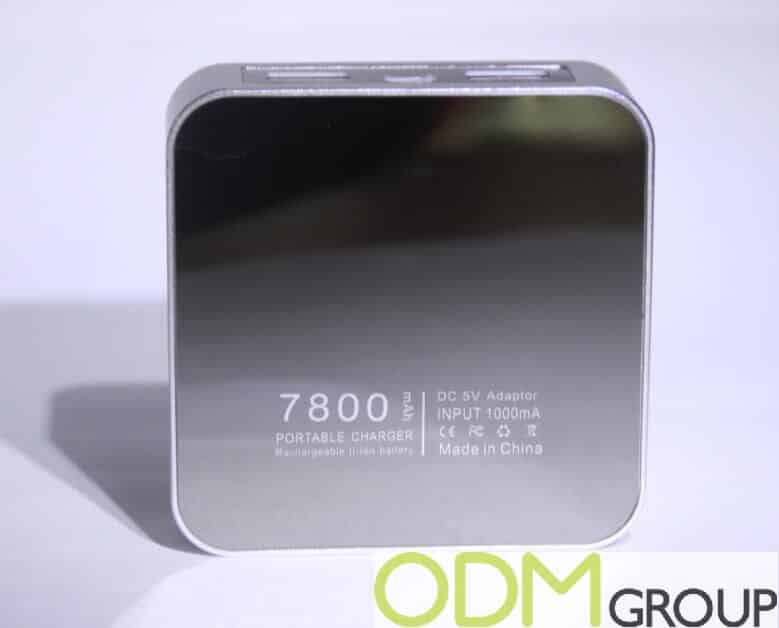 Branded Power Bank with Innovative Logo
