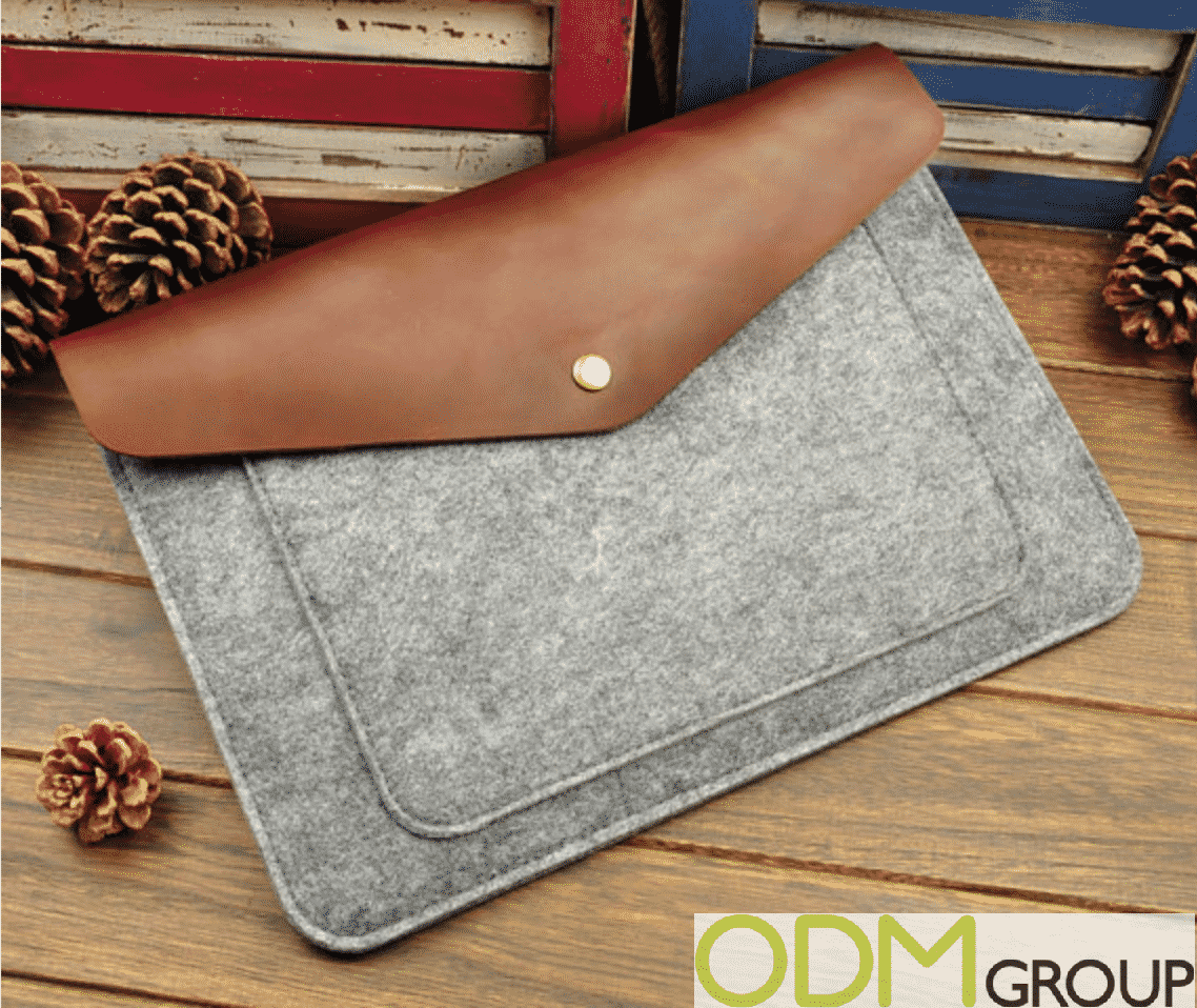 Custom Laptop Sleeve with Unique Eco-friendly Design