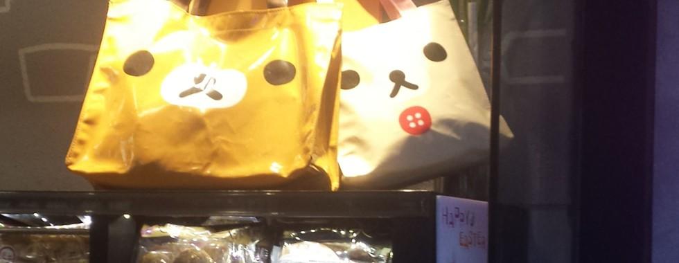 Custom Tote Bags in Rilakkuma Big Face Promotion