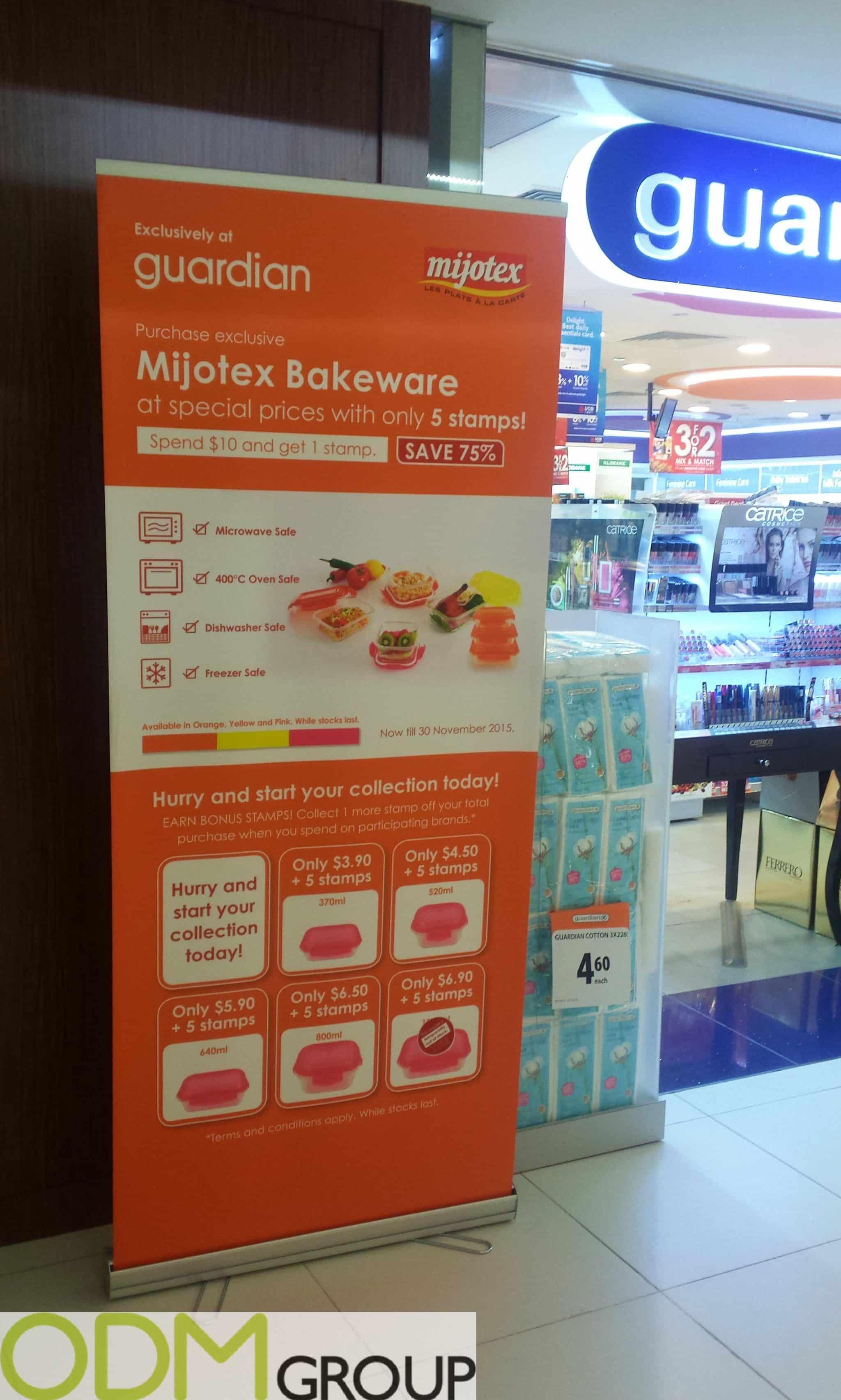 Guardian On-Premise Display for Mijotex Bakeware