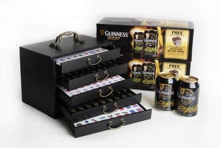 Guinness Travel Mahjong Set