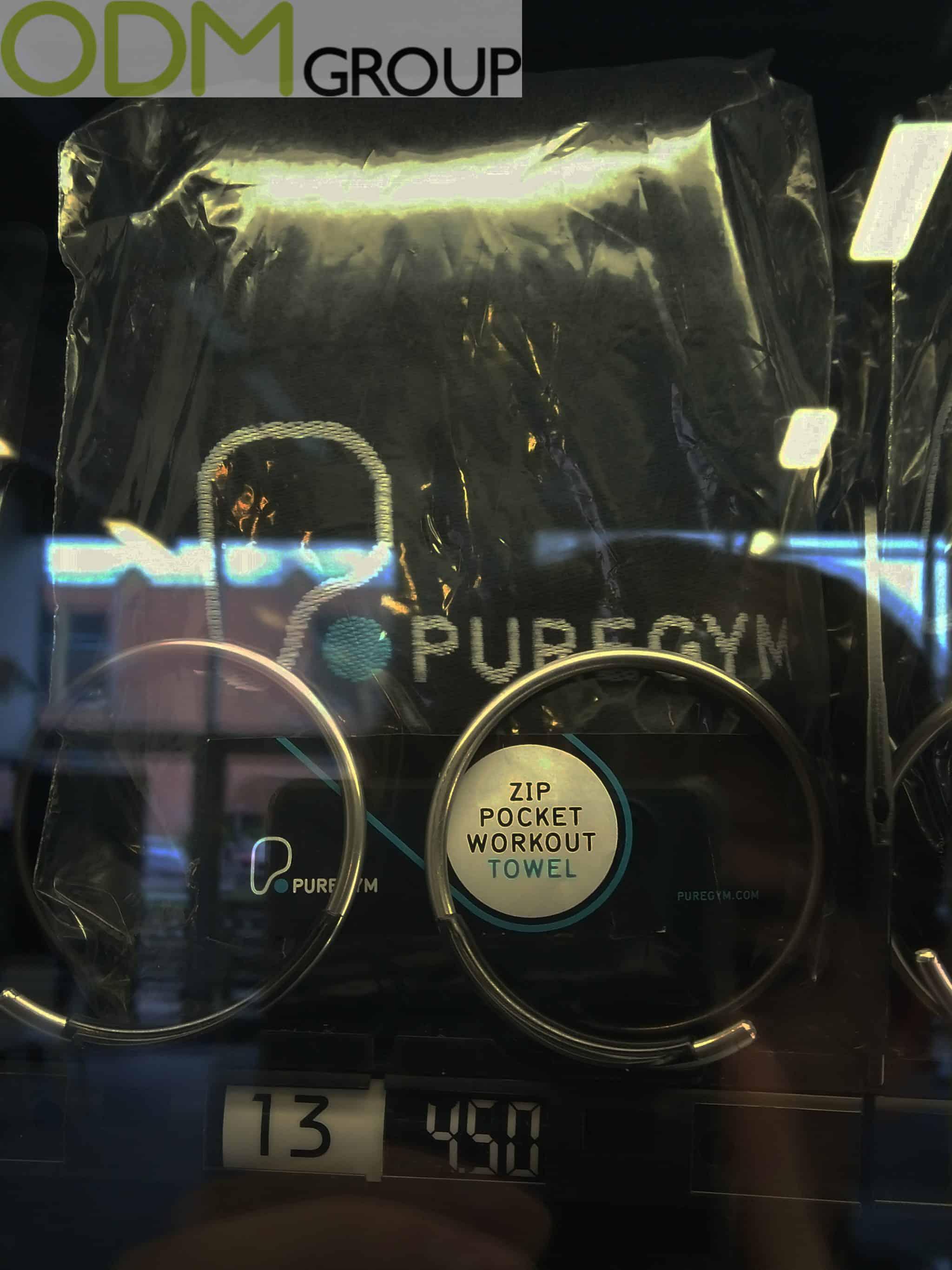 Gym Merchandise - Branded Accessories