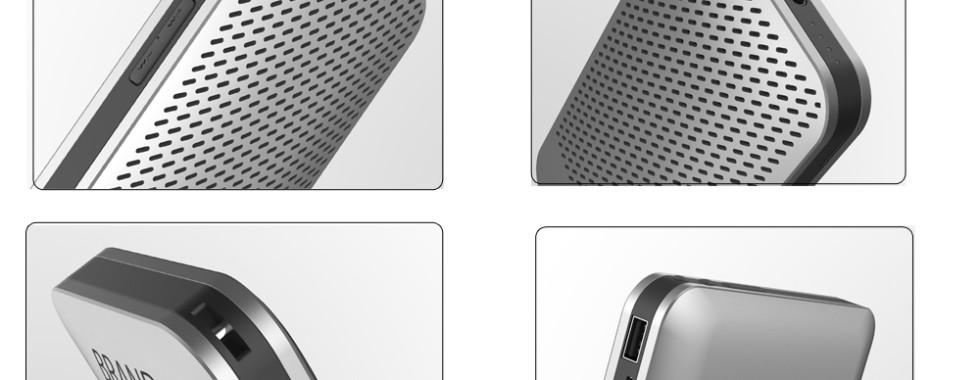 Innovative Idea: 2 in 1 Bluetooth Speaker Power Bank