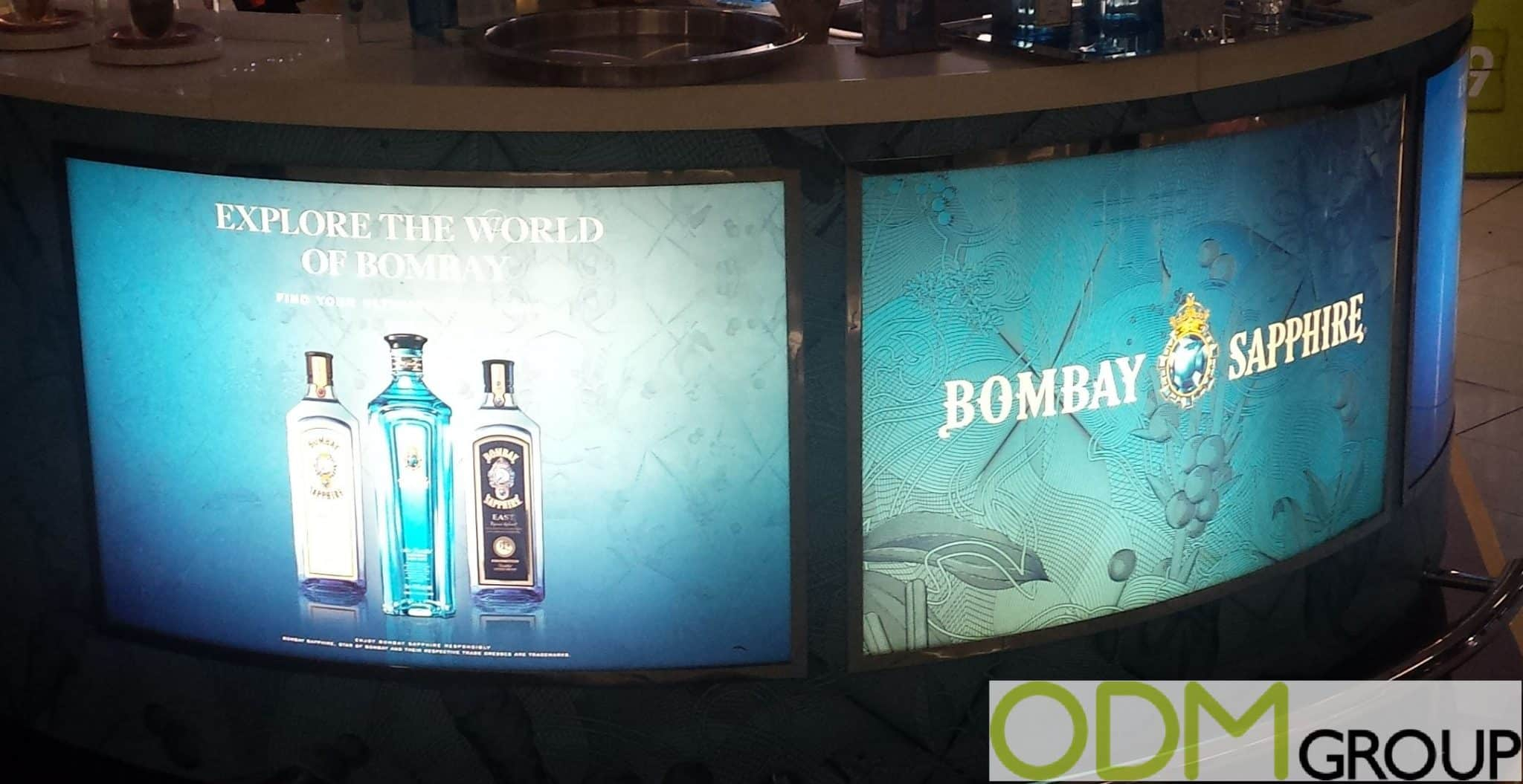 LED In-store Display- By Bombay Sapphire