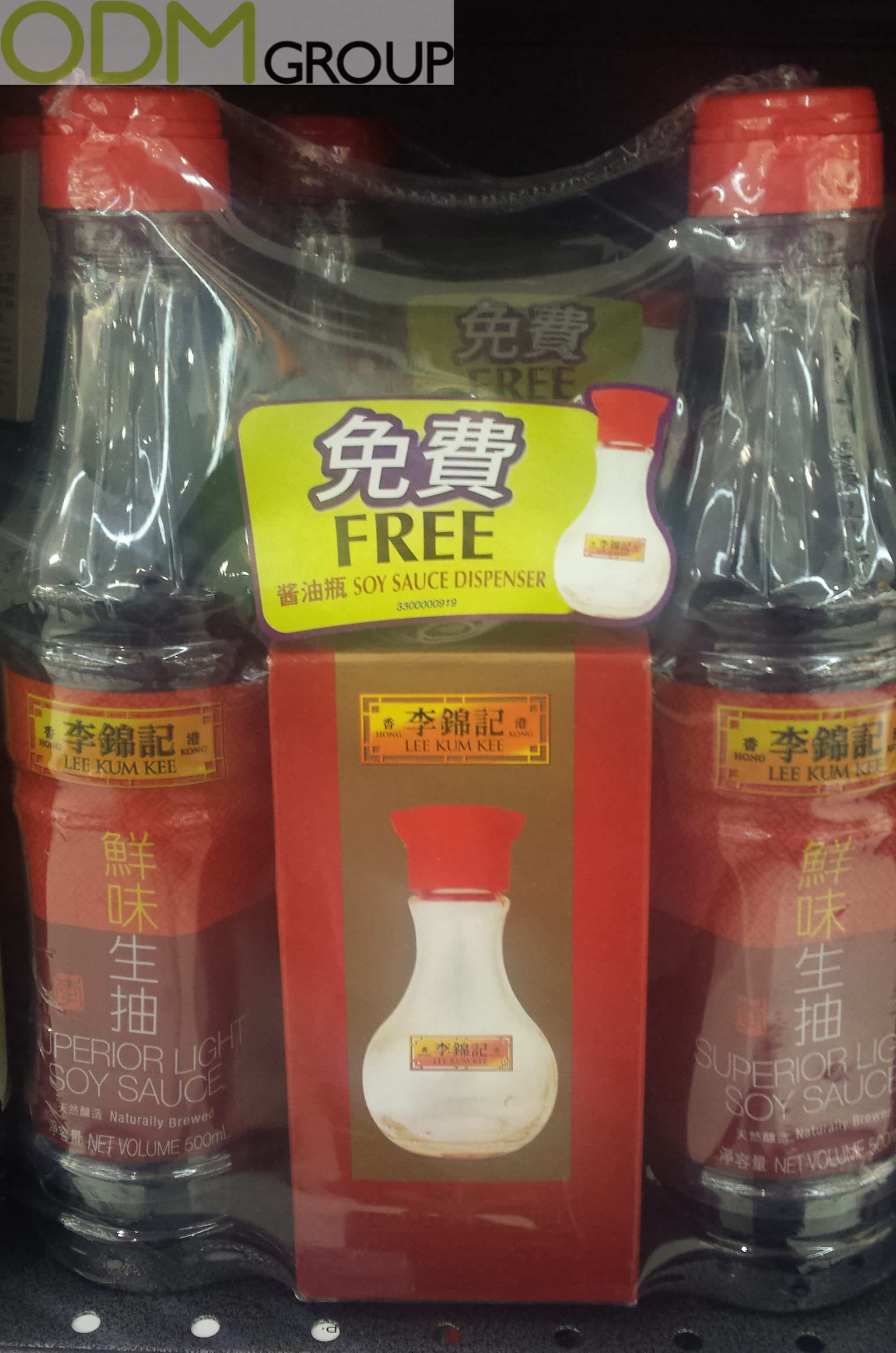 Promotional Gift by Lee Kum Kee - Soy Sauce Dispenser