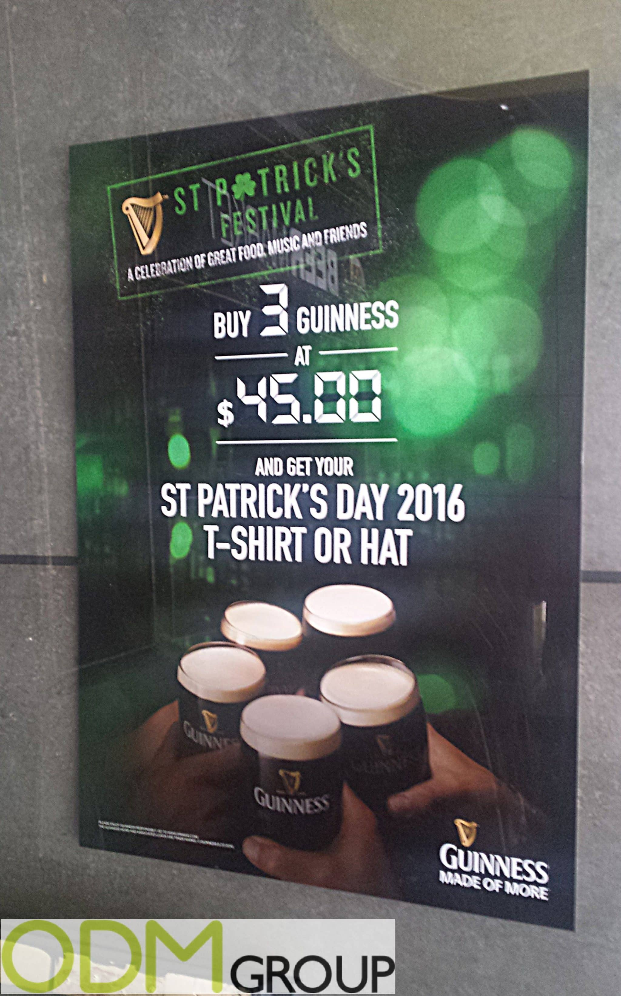 St Patricks Day Merchandise - Guinness T-Shirt and Hat
