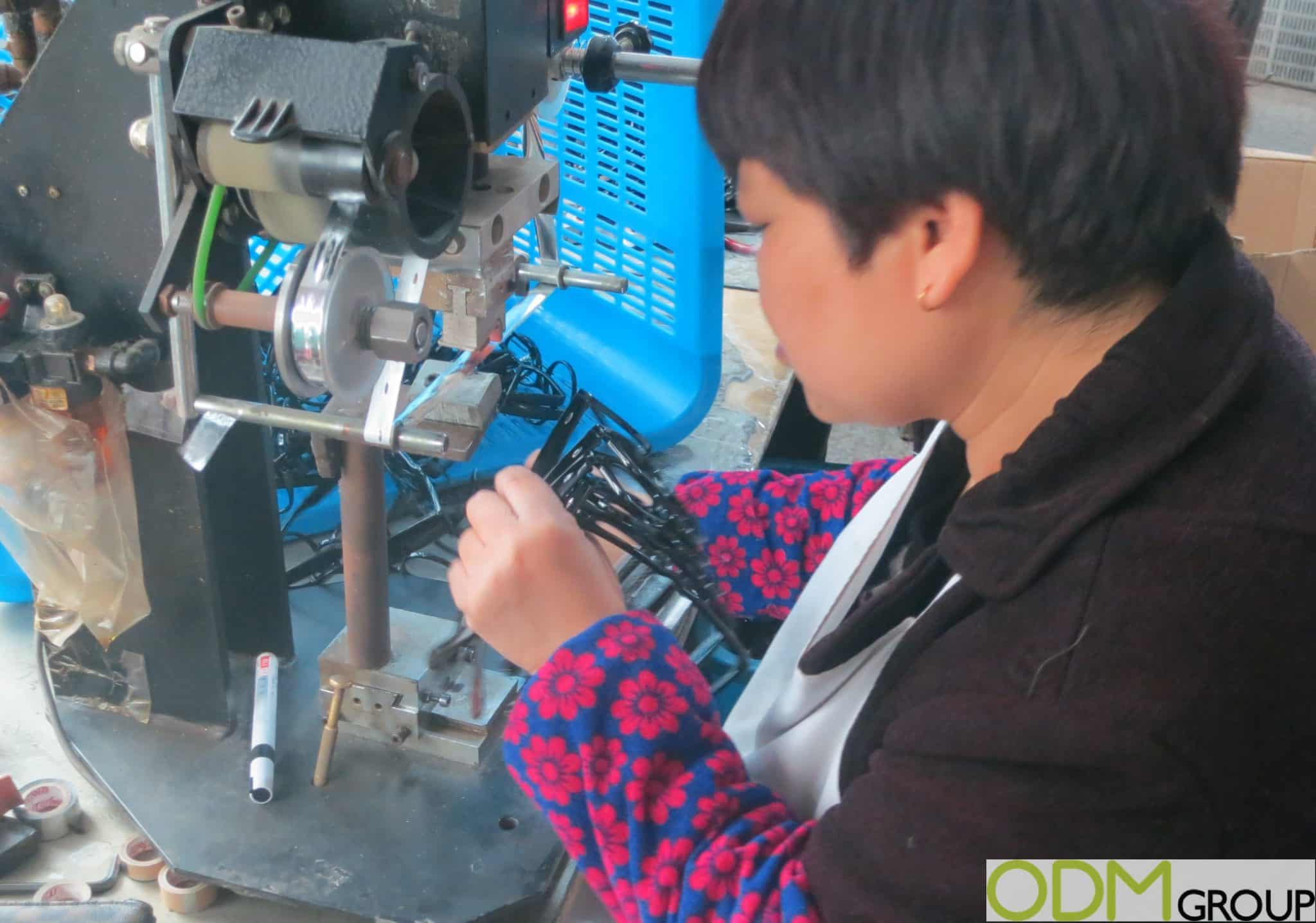 Sunglasses Factory Visit Manufacturing in China