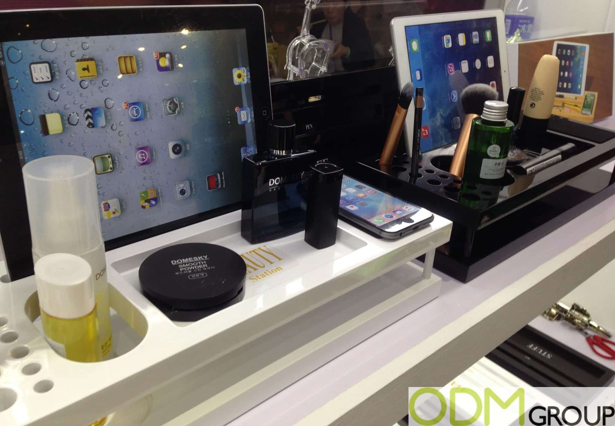 Branded Stand for Tablets and Beauty Products