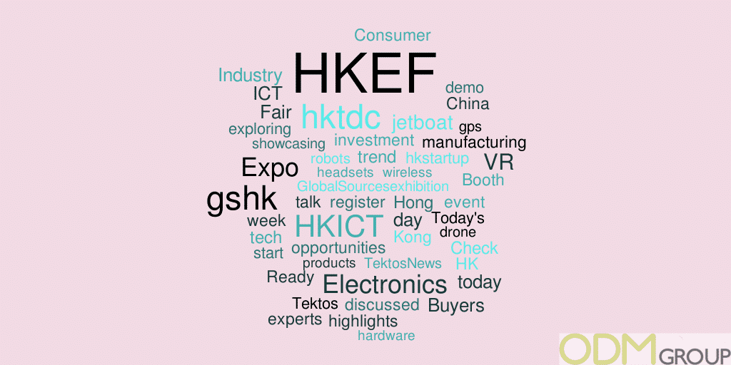 Event Tracking on Twitter: #GSHK2016 & #HKEF