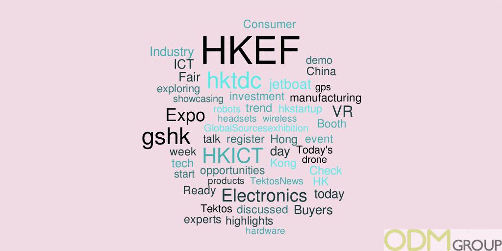 Event Tracking on Twitter: #GSHK2016 & #HKEF
