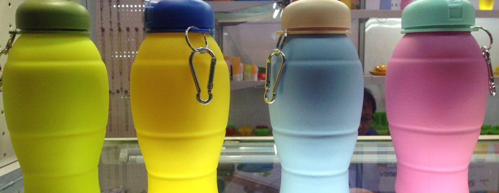 Innovative Product Ideas for Water - Collapsible Silicone Bottles
