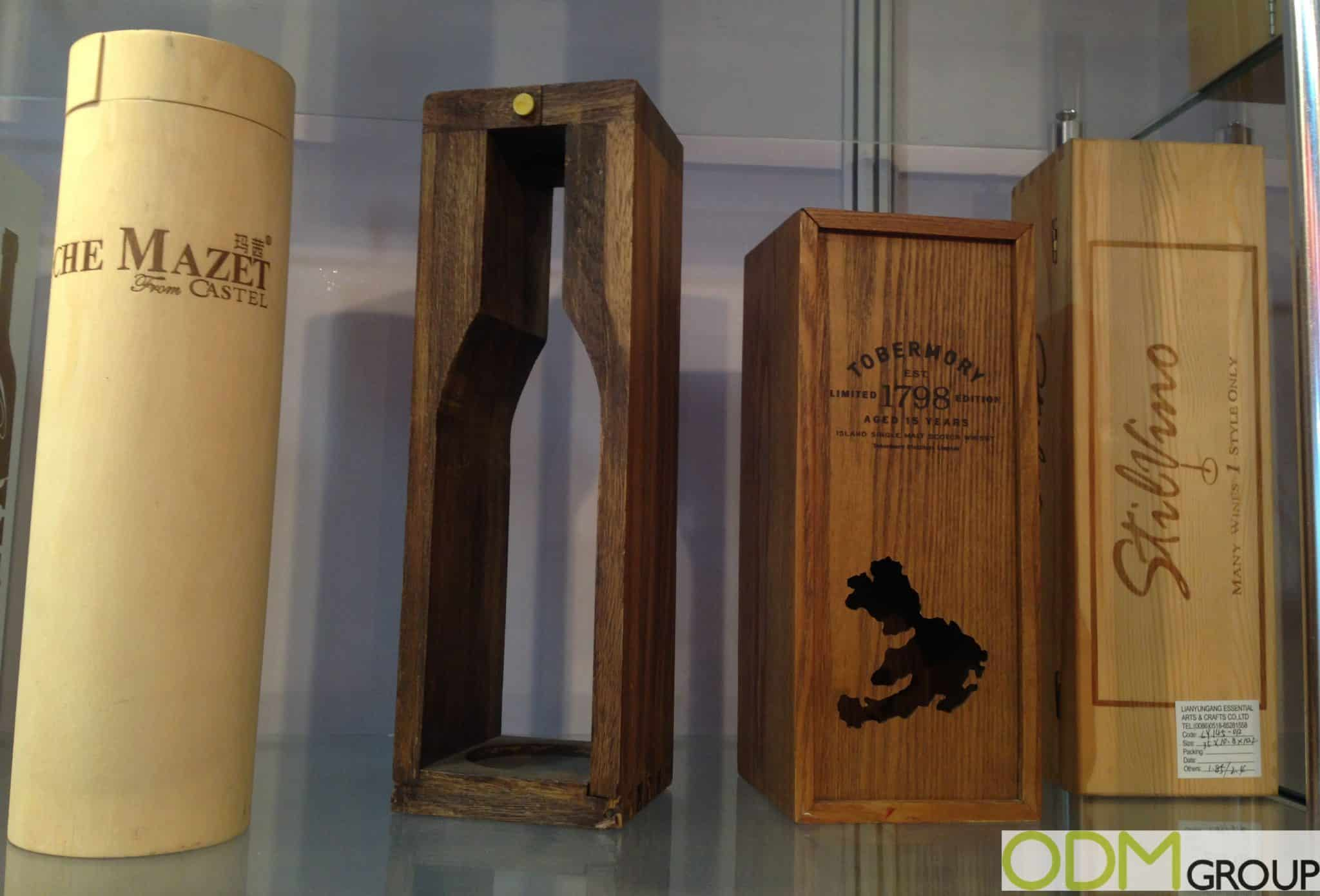 Packaging Ideas for Alcohol Companies - Branded Wood Cases