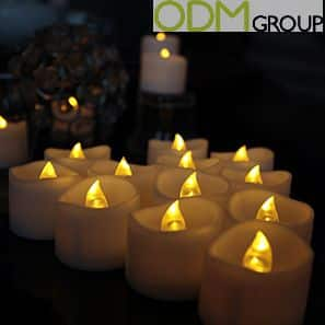 Promotional Candle Light with LED Function