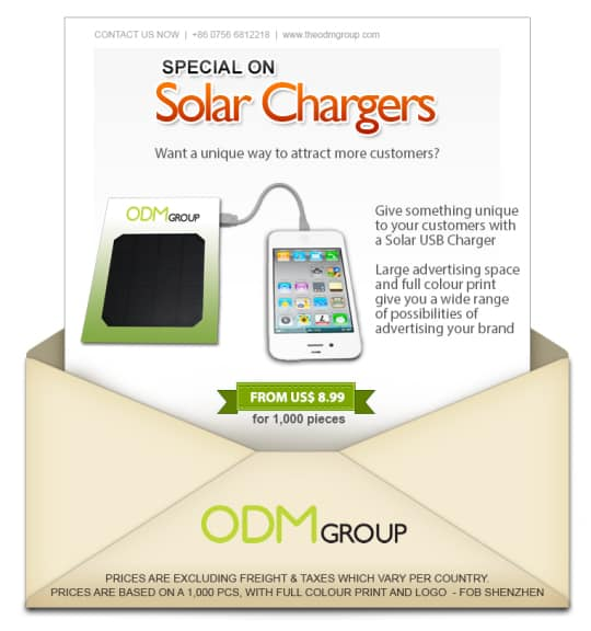 Solar Charger Special Offer