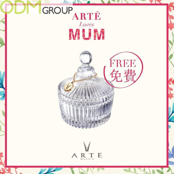 ARTE Madrid Free Gift with Purchase Glass Container