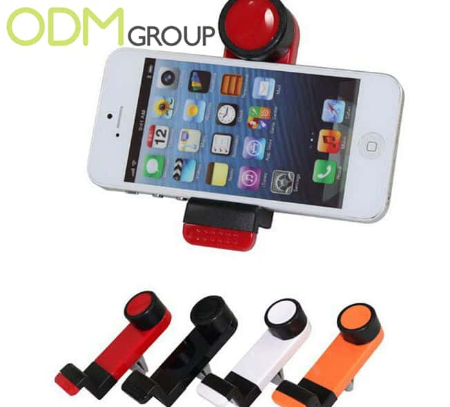 Car Accessory Idea Branded Phone Holder