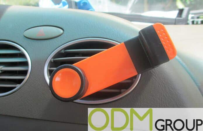 Car Accessory Idea - Branded Phone Holder